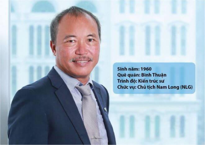 Chủ tịch Nam Long Nguyễn Xuân Quang sinh ra và lớn lên tại Bình Thuận