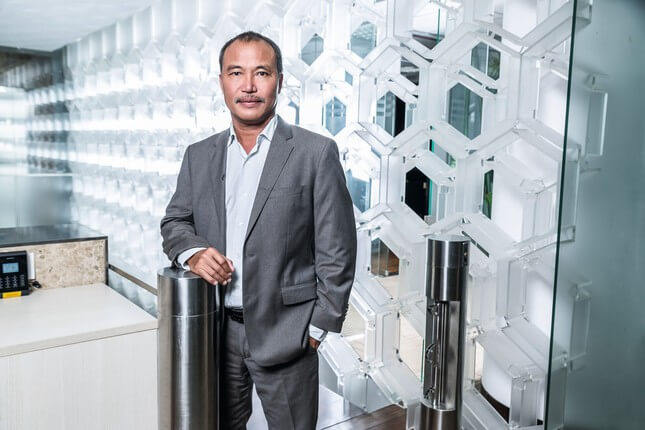 Ông Nguyễn Xuân Quang, nhà sáng lập, chủ tịch Nam Long
