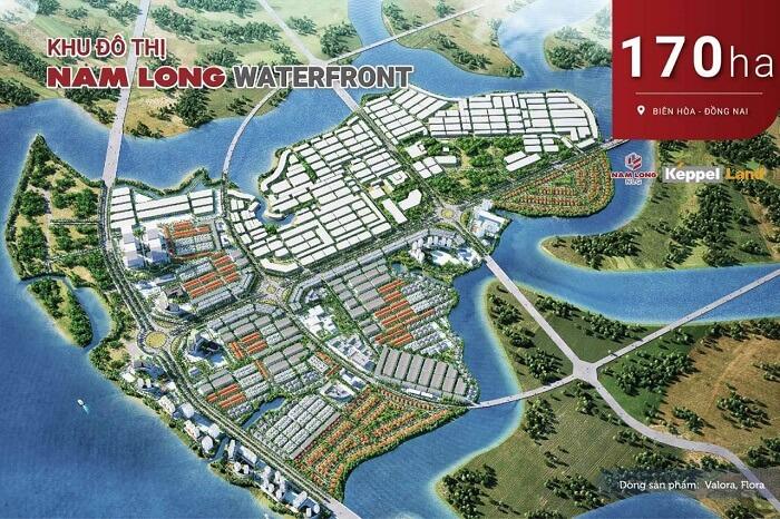 Siêu dự án khu đô thị Nam Long WaterFront tập đoàn Nam Long mua lại từ Keppel Land