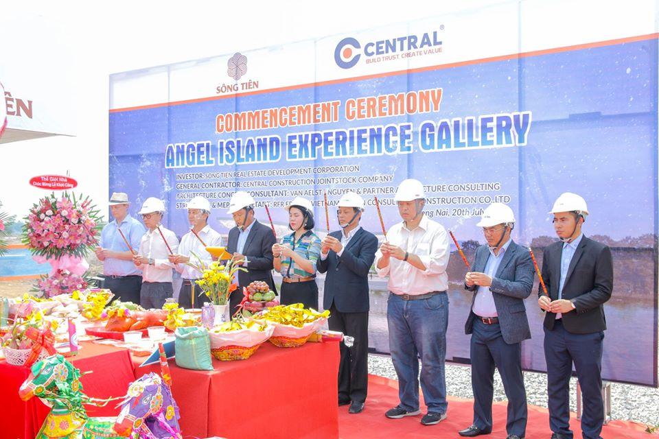 Lễ khởi công dự án Angel Island (Đảo Tiên) - khu đô thị du lịch Nhơn Phước