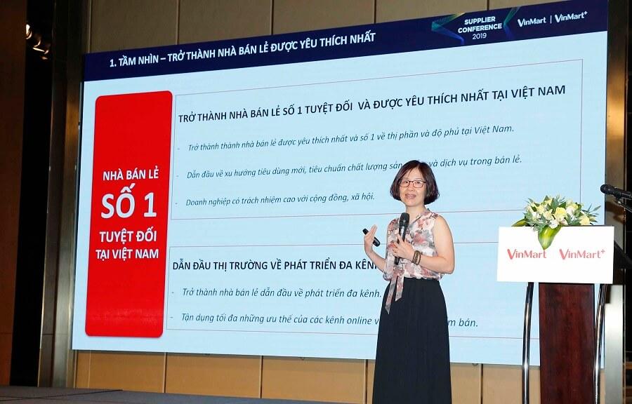 Bà Thái Thị Thanh Hải – Chủ tịch HĐQT Vincom Retail