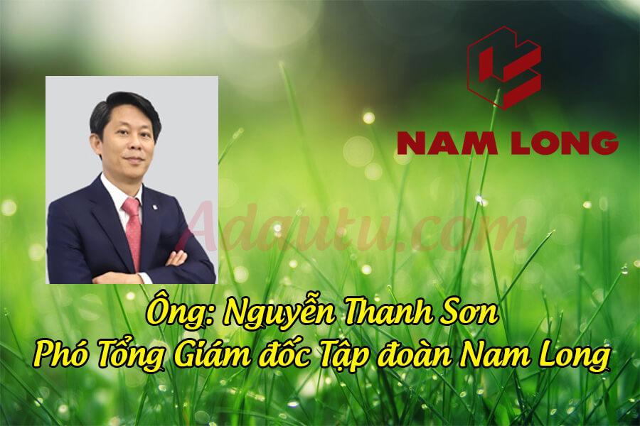 Ông Nguyễn Thanh Sơn – Phó Tổng Giám đốc Tập đoàn Nam Long