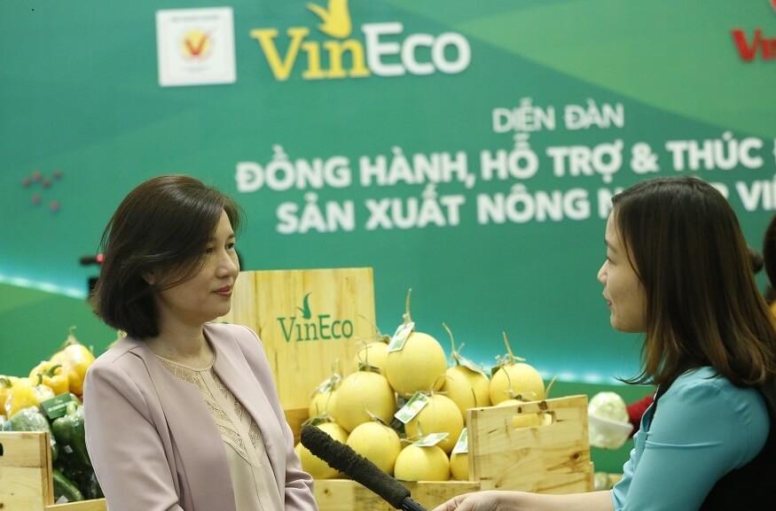 Bà Vũ Tuyết Hằng – Tổng Giám đốc Vinpearl