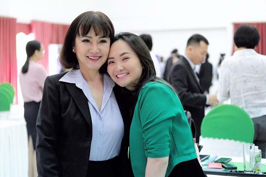 Bà Huỳnh Bích Ngọc và con gái - Đặng Huỳnh Ức My, đang tham gia điều hành TTC Sugar
