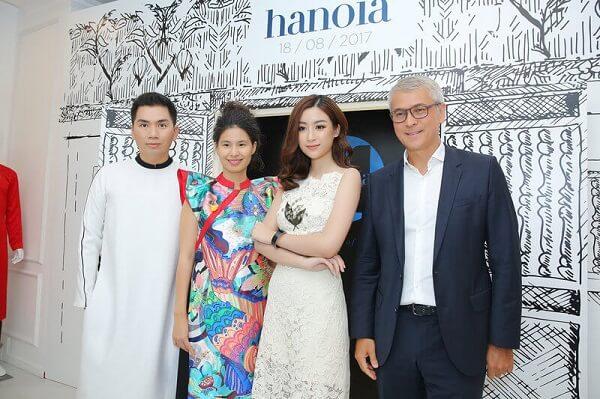 Chủ tịch OpenAsia Đoàn Viết Đại Từ và Hoa hậu Việt Nam 2014 Đỗ Mỹ Linh