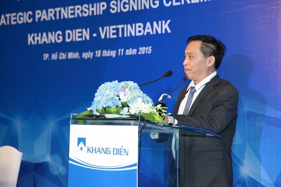 Ông Lý Điền Sơn - Nhà sáng lập, Phó Chủ tịch Tập đoàn Khang Điền