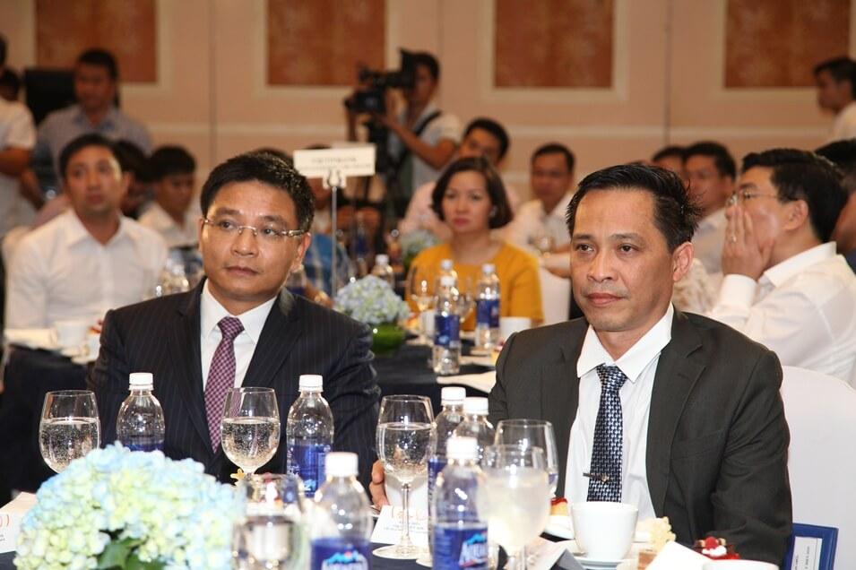 Lý Điền Sơn tại Lễ ký kết hợp tác chiến lược giữa Khang Điền - Vietinbank