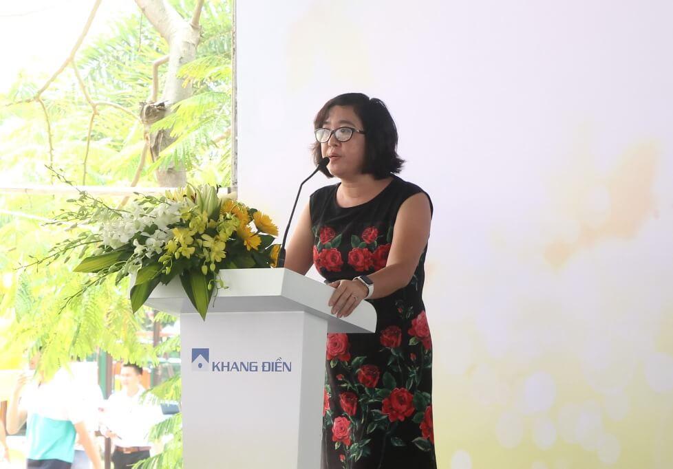 Bà Ngô Thị Mai Chi – Tổng Giám đốc Tập đoàn Khang Điền giai đoạn 2017 - 2020