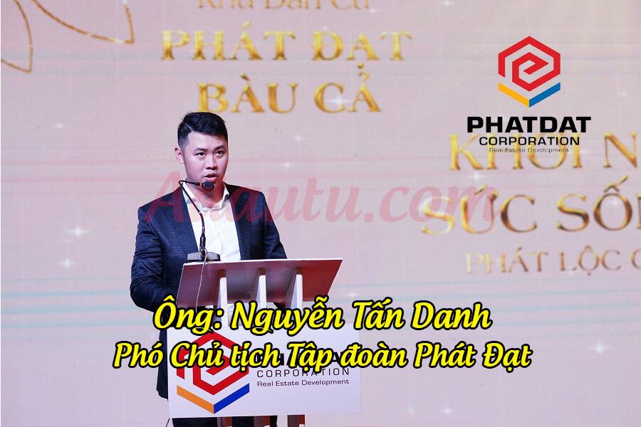 Phó chủ tịch Nguyễn Tấn Danh - con trai Chủ tịch Nguyễn Văn Đạt