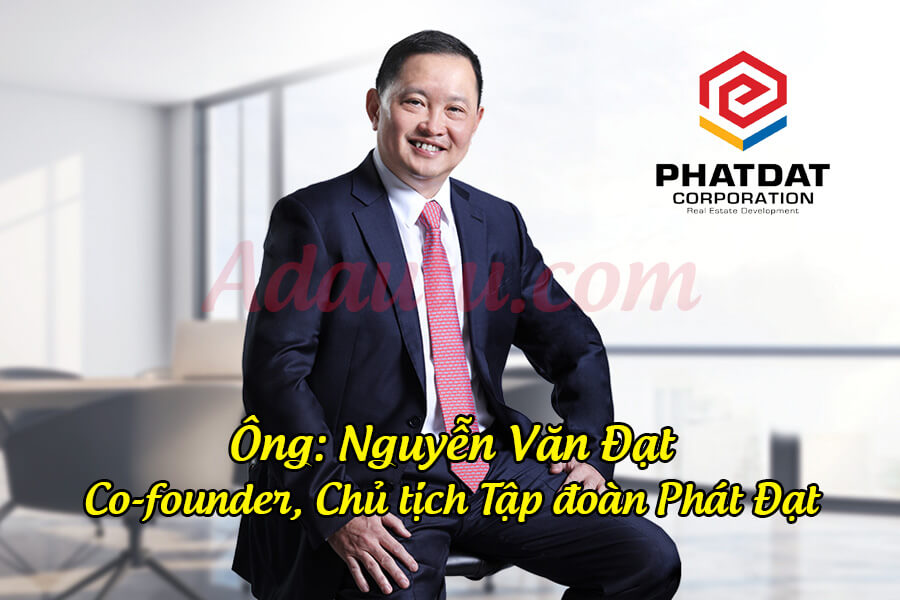 Chủ tịch Nguyễn Văn Đạt hiện là người giàu thứ 8 trên sàn chứng khoán Việt Nam (tháng 01/2021)