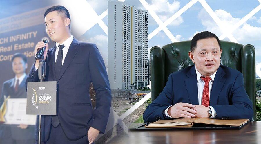 Chủ tịch Nguyễn Văn Đạt và con trai Phó Chủ tịch Nguyễn Tấn Danh