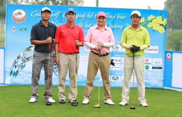Golf là một bộ môn thể thao ưa thích của chủ tịch Nguyễn Văn Đạt