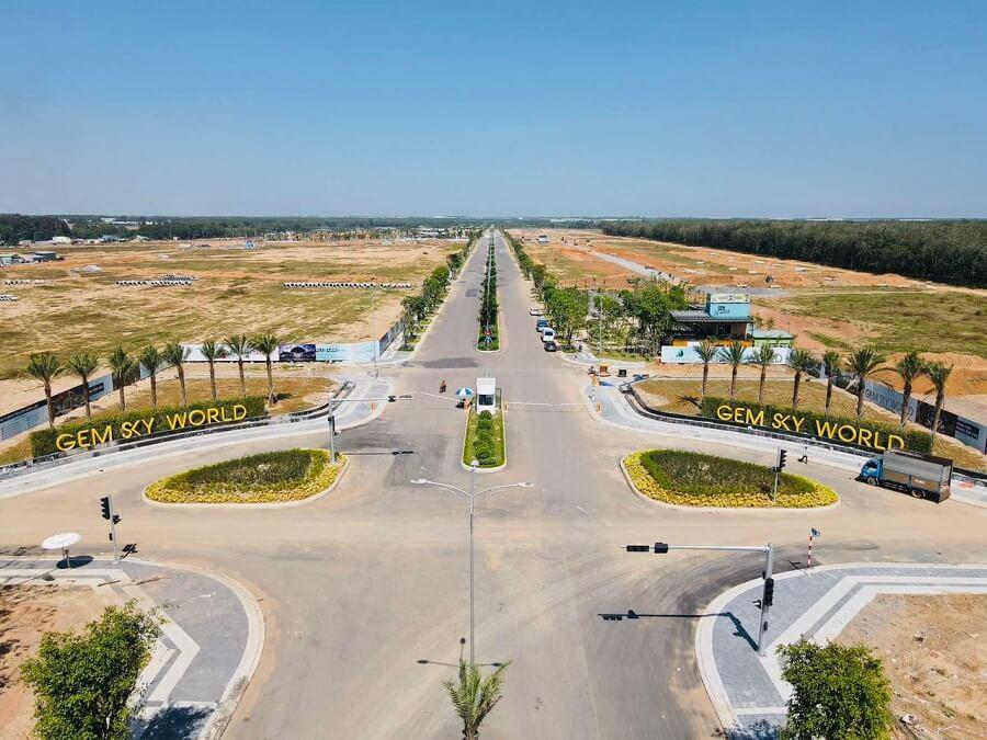 Dự án Gem Sky Word đang được chủ đầu tư gấp rút thi công triển khai tại Long Thành, Đồng Nai