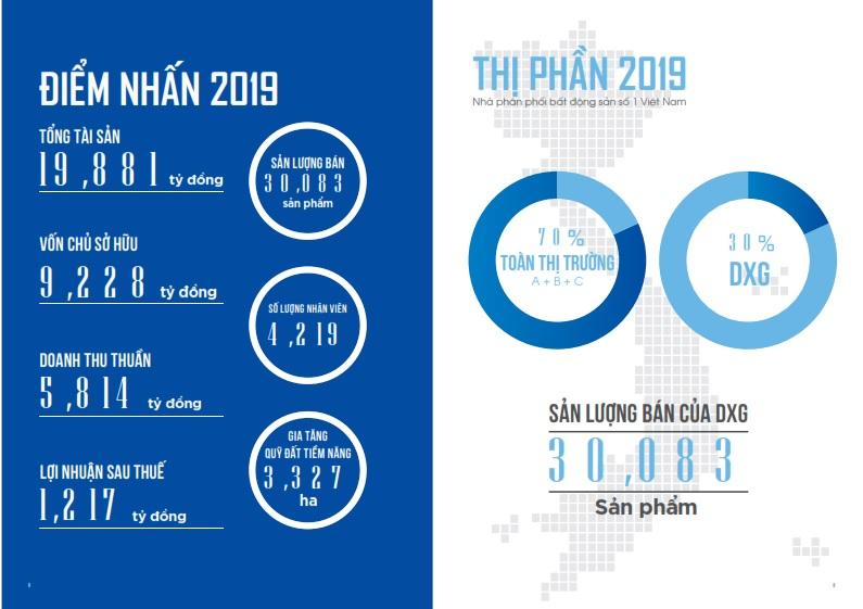 Tổng quan tình hình kinh doanh Đất Xanh Group năm 2019