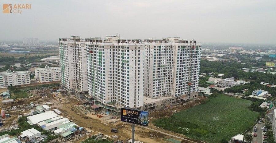 Tiến độ dự án Akari City tháng 12/2020
