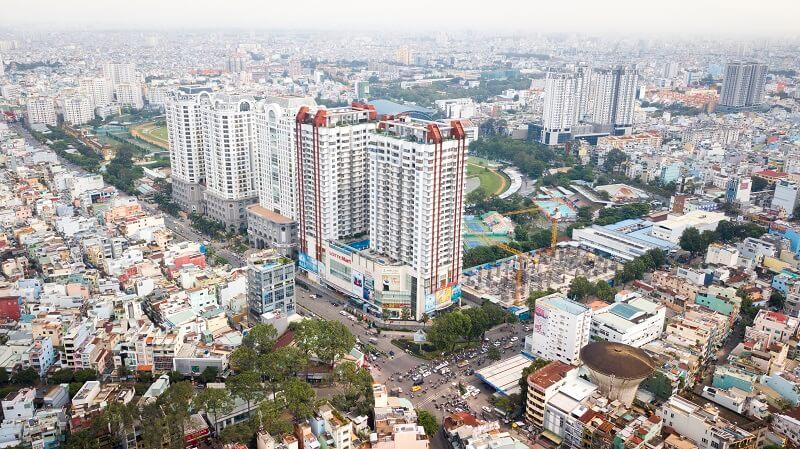 Dự án The Everrich 1 tọa lạc tại 968 Ba Tháng Hai, Phường 15, Quận 11, Tp Hồ Chí Minh