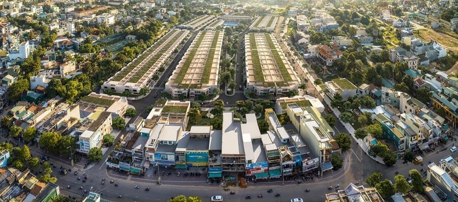 Dựán Khu dân cư Phát Đạt Bàu Cả tọa lạc tại Đường Quang Trung, Tp Quảng Ngãi, Tỉnh Quảng Ngãi