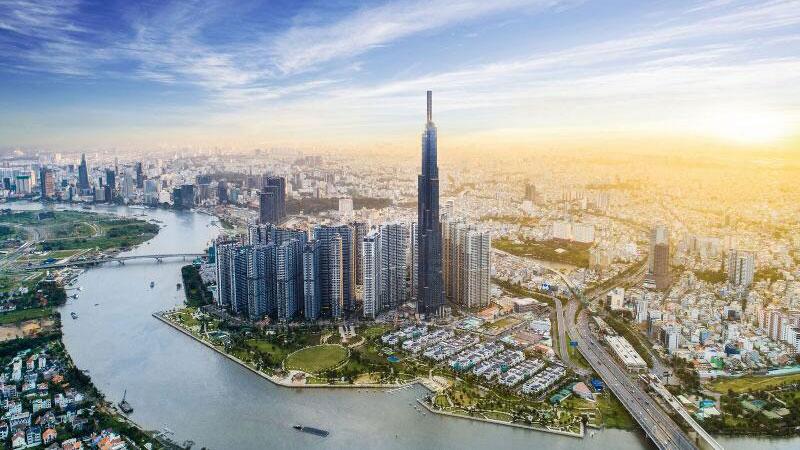 Dự án Vinhomes Central Park Tân Cảng nổi bật với tòa tháp Landmark 81 cao nhất Việt Nam