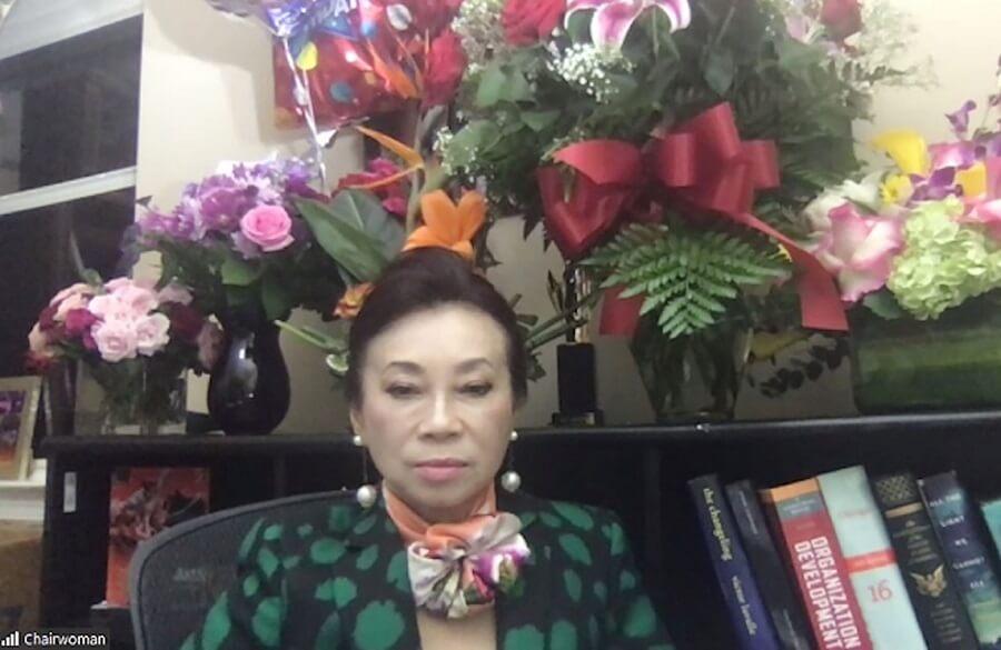 Chủ tịch Đặng Thị Hoàng Yến tái xuất sao 8 năm vắng bóng với nhiệm vụ khác lạ