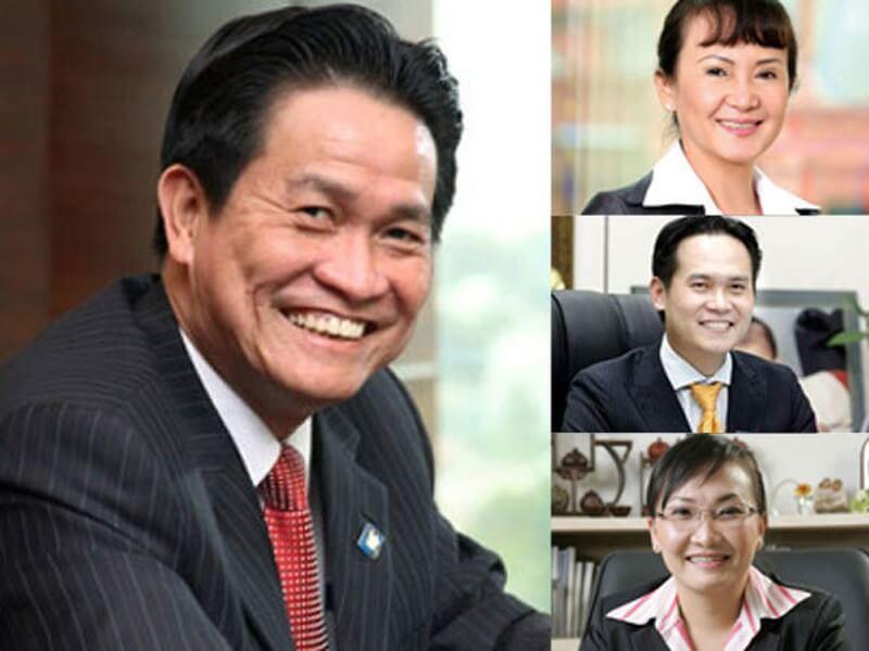Gia đình ông Đăng Văn Thành, bà Huỳnh Bích Ngọc, Đặng Hồng Anh và Đặng Huỳnh Ức My