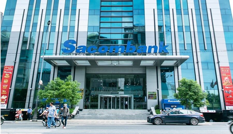 Hội sở chính ngân hàng Sacombank tại 266 - 268 Nam Kỳ Khởi Nghĩa, Phường 8, Quận 3, TP. HCM