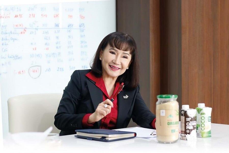 Bà Huỳnh Bích Ngọc là nhà sáng lập, Phó chủ tịch TTC Group - Chủ tịch TTC Sugar