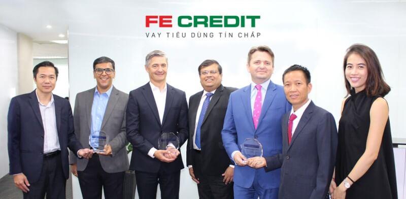 Ban lãnh đạo FE Credit - công ty con 100% của VPBank