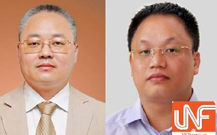Anh em ông chủ Eurowindow chủ tịch Nguyễn Cảnh Sơn - Tổng Giám đốc Nguyễn Cảnh Hồng