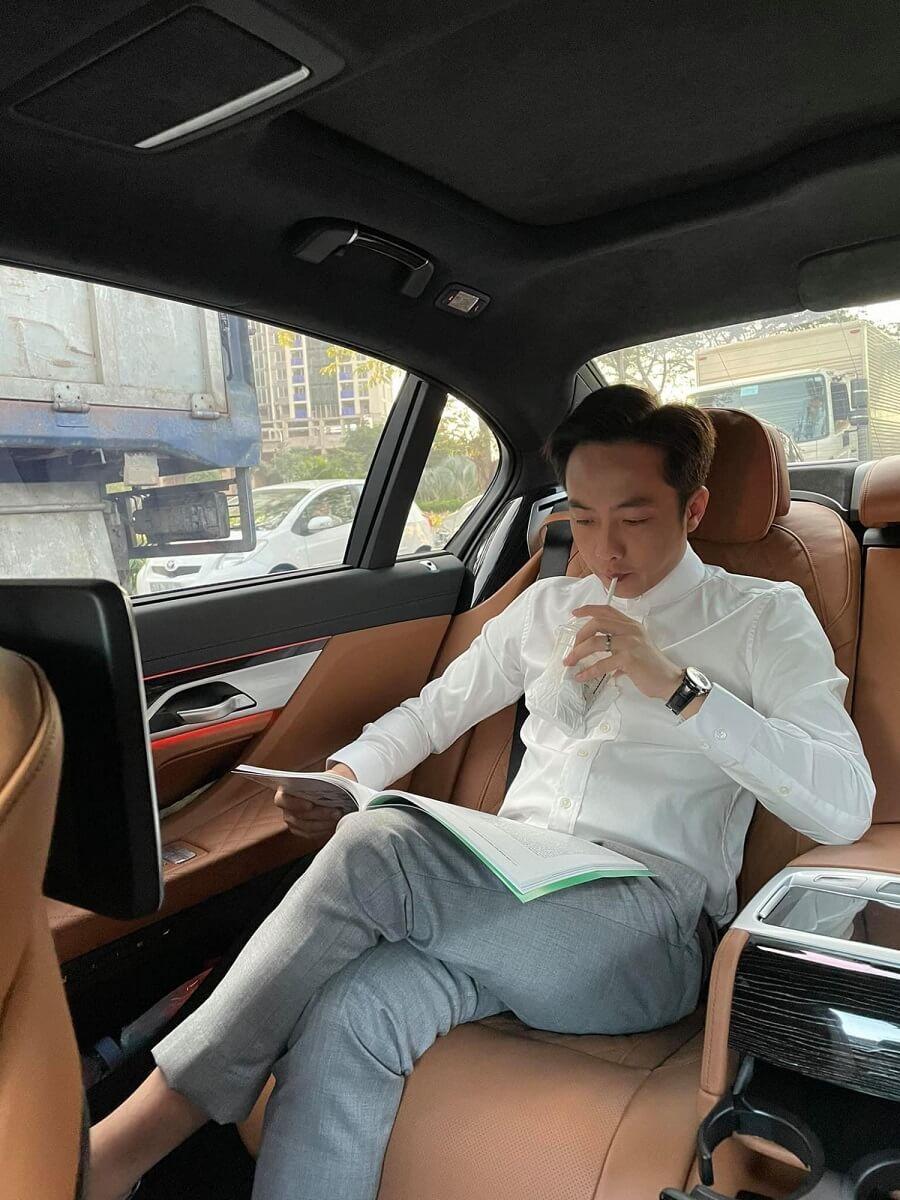 Chủ tịch HĐQT, kiêm TGĐ Công ty bất động sản C.Holdings Nguyễn Quốc Cường.