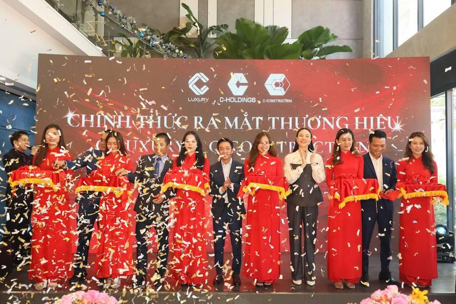 Lễ ra mắt thương hiệu C-Luxury và C-Construction trong hệ sinh thái C-Holdings