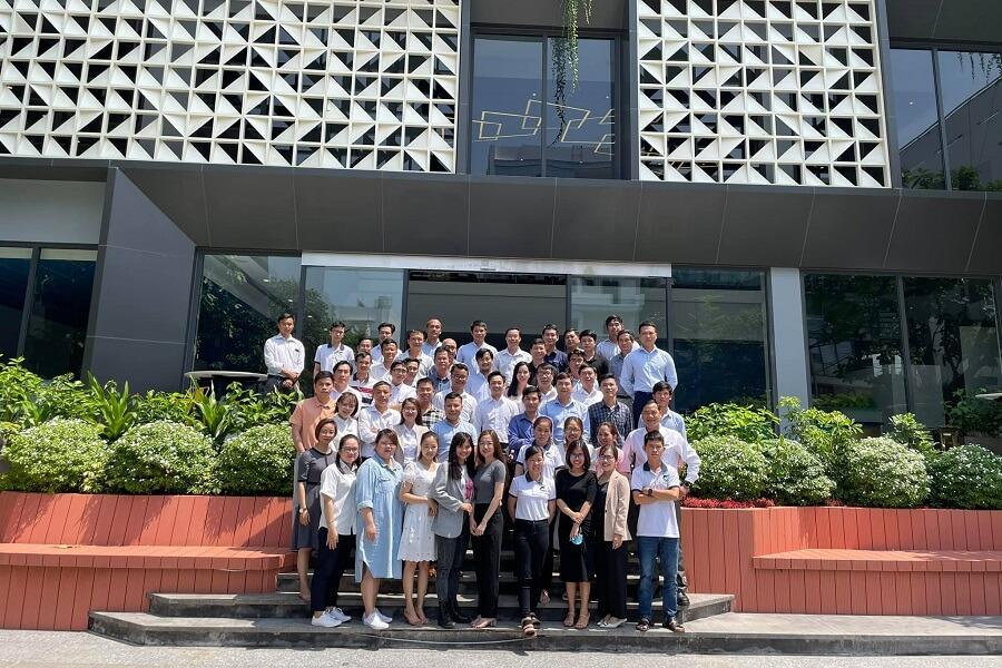 Trụ sở chính CTCP C-Holdings tại thành phố Thủ Dầu Một, tỉnh Bình Dương