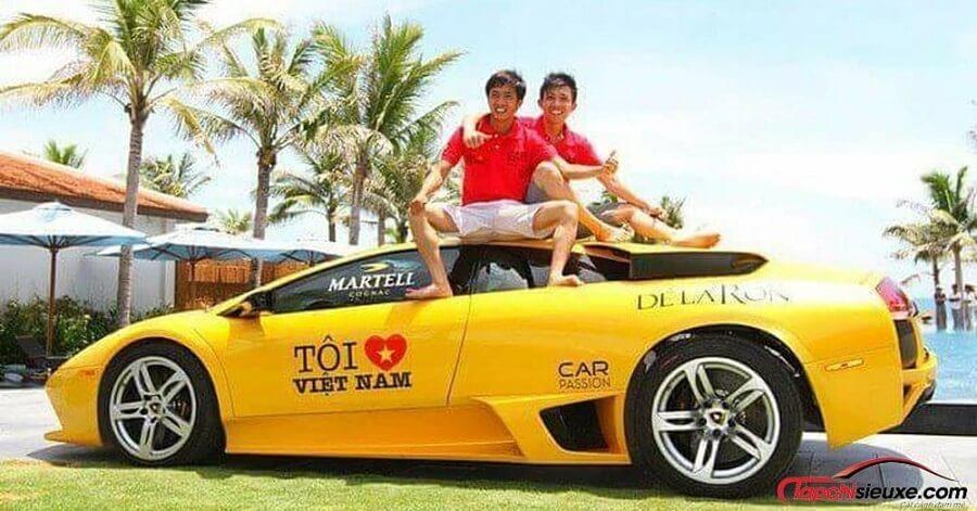 Tình bạn thân thiết của Cường đô la và Minh Nhựa - những nhà tổ chức Hành trình siêu xe Car Passion