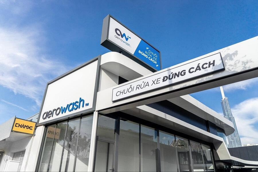 Cường đô la và chuỗi rửa xe đúng cách mang tên AeroWash