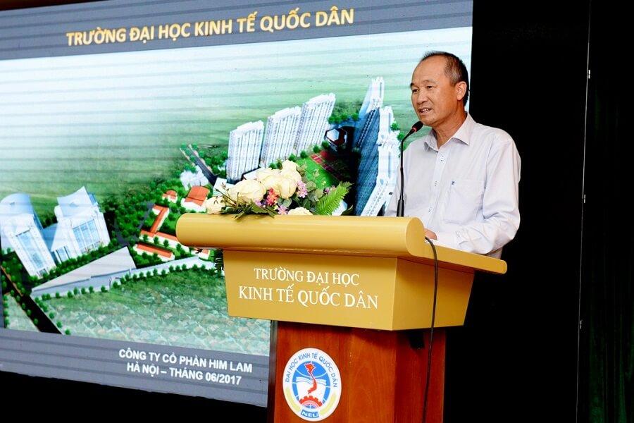 Chủ tịch Sacombank Dương Công Minh - Cựu sinh viên Trường Đại học Kinh tế Quốc dân khóa 1979