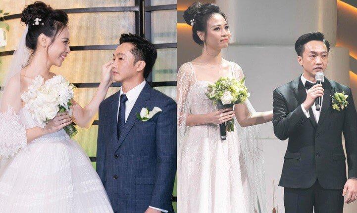 Sau hàng loạt những mỹ nhân đi qua cuộc đời, Đàm Thu Trang là cô gái được Cường Đô La chọn để tổ chức lễ cưới một cách danh chính ngôn thuận.