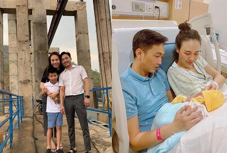 Cường Đô La và Đàm Thu Trang khiến công chúng ngưỡng mộ khi đón con gái đầu lòng vào tháng 8/2020.