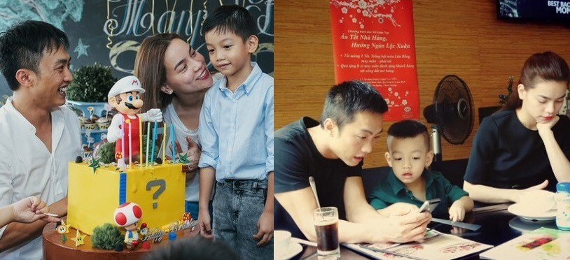 Cách cùng nhau nuôi dạy con sau ly hôn của Cường Đô La và Hồ Ngọc Hà được dư luận ủng hộ.